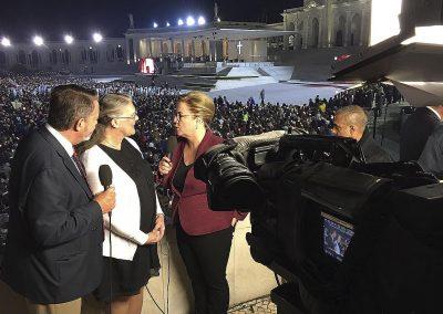 visita del Papa Francisto a Fátima en 2017