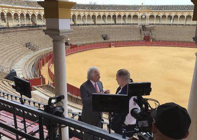 producción local del programa El Gordo y La Flaca en Sevilla