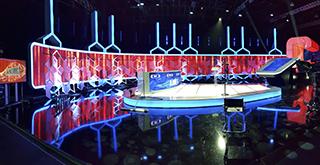 Plató de televisión en Madrid España