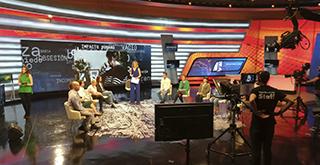 Plató del programa Desaparecidos en TVE