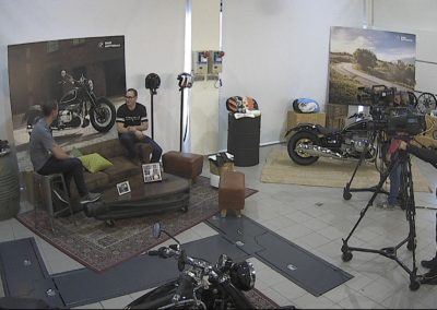 Presentación de Moto MBW R-18